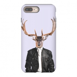 iPhone 8/7 plus  Fashionable Deer Illustration by Alemi