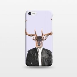 iPhone 5C  Fashionable Deer Illustration by Alemi