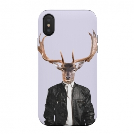 iPhone Xs / X  Fashionable Deer Illustration by