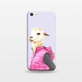 iPhone 5C  Fashionable Llama Illustration by Alemi