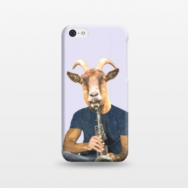 iPhone 5C  Goat Musician Illustration by Alemi
