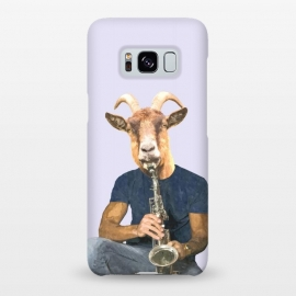 Galaxy S8+  Goat Musician Illustration by Alemi