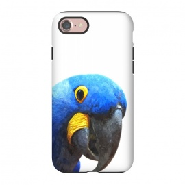 iPhone 8/7  Blue Parrot Portrait by Alemi