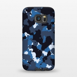 Galaxy S7  Blue Camo by TMSarts