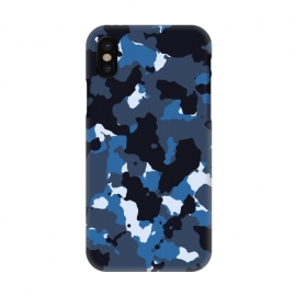 iPhone X  Blue Camo by TMSarts