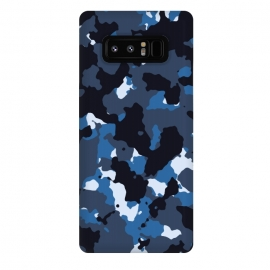 Galaxy Note 8  Blue Camo by TMSarts
