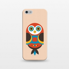 iPhone 5/5E/5s  abstract Owl by TMSarts