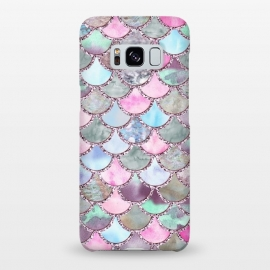 Galaxy S8+  Pastel Multicolor Mermaid Scales by Utart