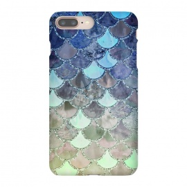 Multicolor Watercolor Fish and Mermaid Scales by Utart