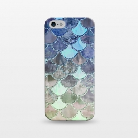 iPhone 5/5E/5s  Multicolor Watercolor Fish and Mermaid Scales by Utart