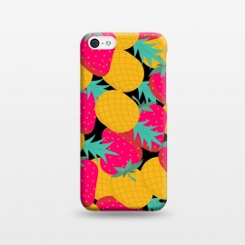 iPhone 5C  pineapples and strawberry by MALLIKA