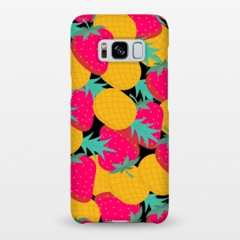 Galaxy S8+  pineapples and strawberry by MALLIKA