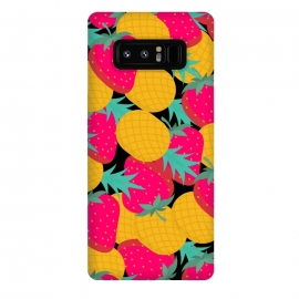 Galaxy Note 8  pineapples and strawberry by MALLIKA