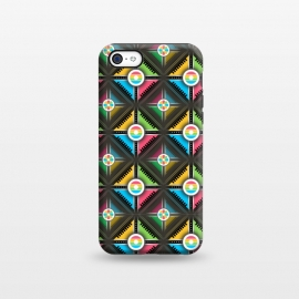iPhone 5C  CIRCLE ABSTRACT ART by MALLIKA