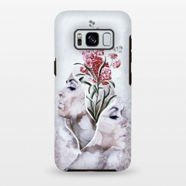 Galaxy S8 plus  Two Sides by  (woman,durrealism,art,grunge)