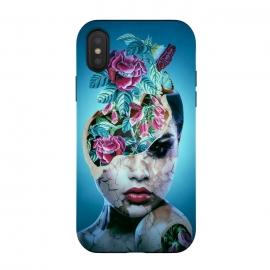 iPhone Xs / X  Broken II by  (woman,surrealism,art)