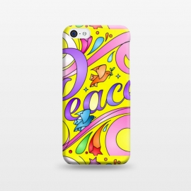 iPhone 5C  peace by MALLIKA