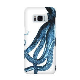 Blue Octopus Illustration by Alemi