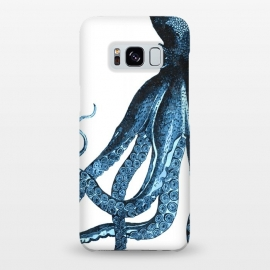 Galaxy S8+  Blue Octopus Illustration by Alemi