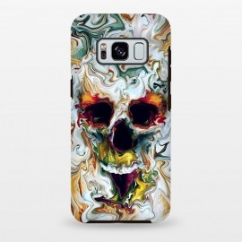 Galaxy S8 plus  Skull by  (skulls,skeleton,colorful,surrealism,art)