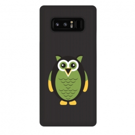 Galaxy Note 8  fat Owl by TMSarts