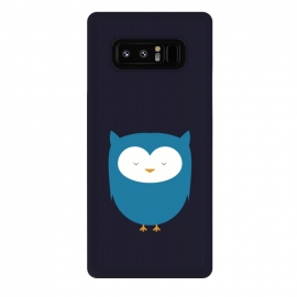 Galaxy Note 8  cute owl standing by TMSarts