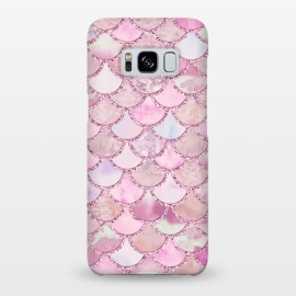Galaxy S8+  Pretty pink and pastel Mermaid Scales  by Utart