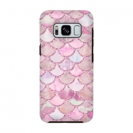 Pretty pink and pastel Mermaid Scales  by Utart