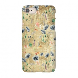 iPhone 8/7  Fishes & Garden #Gold-plated by ''CVogiatzi.
