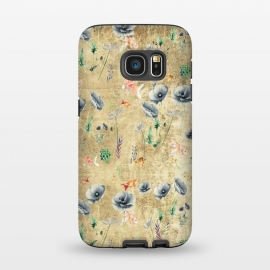 Galaxy S7  Fishes & Garden #Gold-plated by ''CVogiatzi.