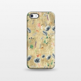 iPhone 5C  Fishes & Garden #Gold-plated by ''CVogiatzi.