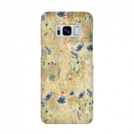 Galaxy S8  Fishes & Garden #Gold-plated by ''CVogiatzi.