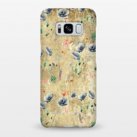 Galaxy S8+  Fishes & Garden #Gold-plated by ''CVogiatzi.