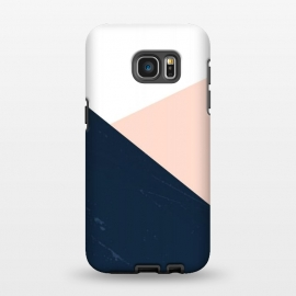 Galaxy S7 EDGE  BLUE-ROSE by ''CVogiatzi.