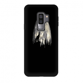 Galaxy S9 plus  Wild Solitary Wolf by