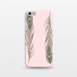 iPhone 5/5E/5s  Feather Style by Joanna Vog