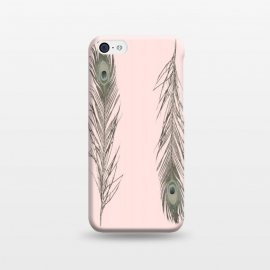 iPhone 5C  Feather Style by Joanna Vog