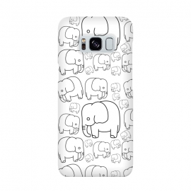 draw elephant pattern by TMSarts