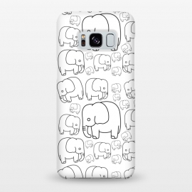 Galaxy S8+  draw elephant pattern by TMSarts