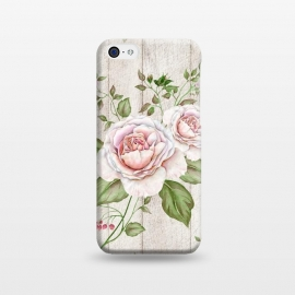 iPhone 5C  Pink Rose by Creativeaxle