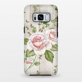 Galaxy S8+  Pink Rose by Creativeaxle