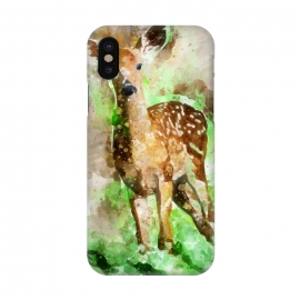 iPhone X  Lovely Deer by Creativeaxle
