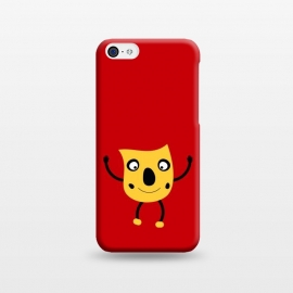 iPhone 5C  funny happy man by TMSarts