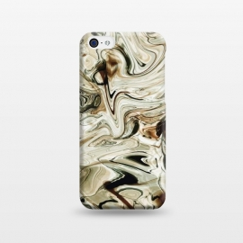 iPhone 5C  Brown Marble by Creativeaxle