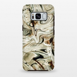 Galaxy S8+  Brown Marble by Creativeaxle