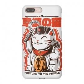 iPhone 8/7 plus  Catnist by  ( japan, japanese, anime, oldschool, Retro, Vintage, funny, cat, fortunecat, cool, tshirt, political, cute, kitty, kawaii, neko)