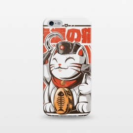 iPhone 5/5E/5s  Catnist by Ilustrata ( japan, japanese, anime, oldschool, Retro, Vintage, funny, cat, fortunecat, cool, tshirt, political, cute, kitty, kawaii, neko)