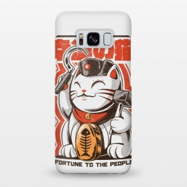 Galaxy S8+  Catnist by Ilustrata ( japan, japanese, anime, oldschool, Retro, Vintage, funny, cat, fortunecat, cool, tshirt, political, cute, kitty, kawaii, neko)