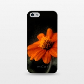 iPhone 5/5E/5s  Single Orange Flower by Majoih