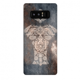 Galaxy Note 8  Elepephant Mandala by Utart
